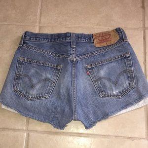 Levi's Shorts - 501 Levi's button fly shorts